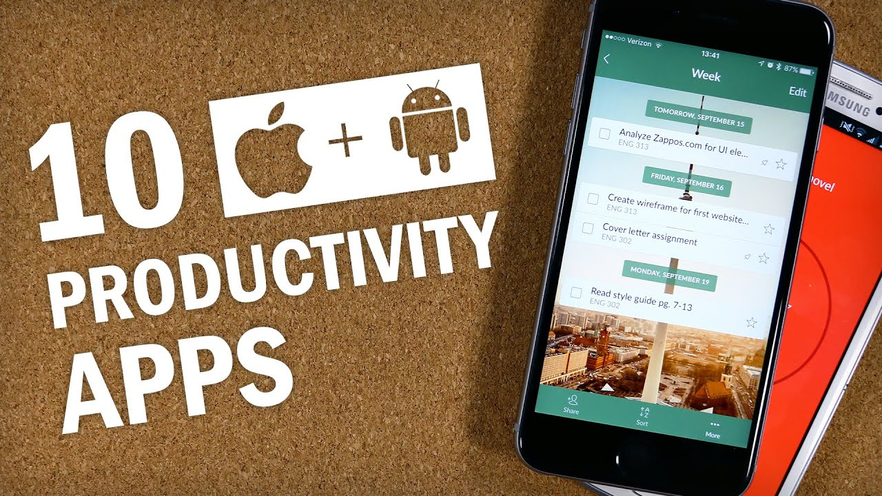 Photo of Be More Productive & More Organized with These Smartphone Apps