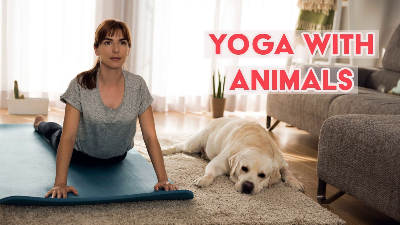 Photo of Benefits of Practicing Yoga with Animals